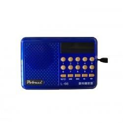 Επαναφορτιζόμενο ραδιόφωνο L66