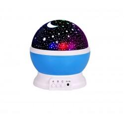 Φωτάκι νυκτός παιδικού δωματίου Projector Μπλε