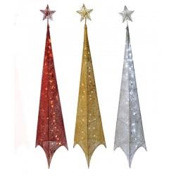 Χριστουγεννιάτικο Δέντρο Πυραμίδα LED 150εκ. Pyramid Led Christmas Tree