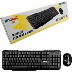 Ασύρματο Πληκτρολόγιο & Ποντίκι - Wireless Keyboard Mouse Andowl