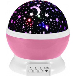Φωτάκι νυκτός παιδικού δωματίου Projector Ροζ