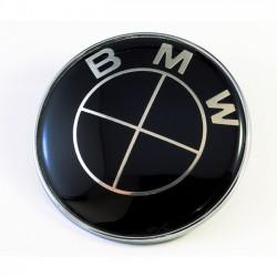 Σήμα Bmw 82mm Black