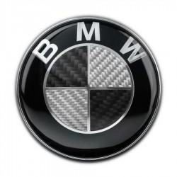 Σήμα BMW Carbon 82mm