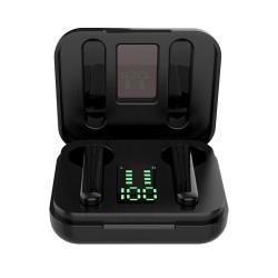 Ακουστικά bluetooth με βάση φόρτισης  SMS T13  TWS  Black