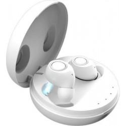 Ασύρματα ακουστικά με βάση φόρτισης  M6 Mini  TWS  White