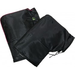 Χούφτες Αδιάβροχες με Επένδυση Γούνα Μαύρο