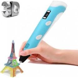 Στυλό για 3D Σχεδίαση με 3 Ανταλλακτικά ABS Filament 1.75mm