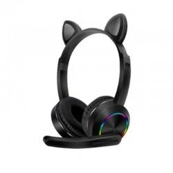 Ασύρματα ακουστικά Cat Headphones  K23  Black