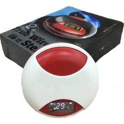 Ασύρματα ακουστικά bluetooth με βάση φόρτισης  KW12  665289  White