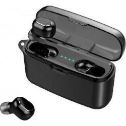Ασύρματα ακουστικά bluetooth με βάση φόρτισης  M8 Plus  TWS  Black